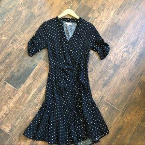 Polka Dot Downeast Dress